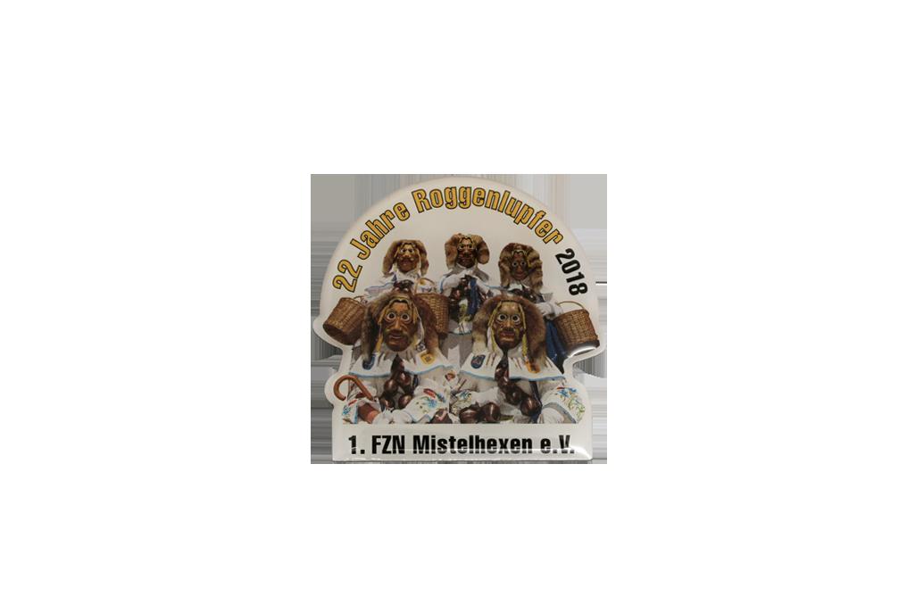 Metall, Motiv im Digitaldruck, mit Glasurlack