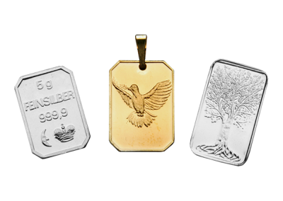 Gold & silver bars