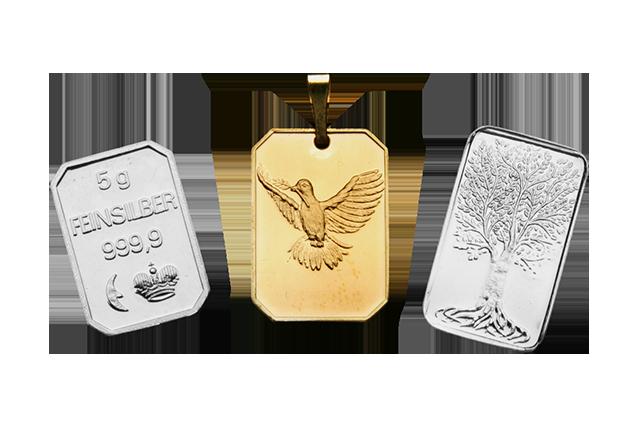Gold- & Silberbarren